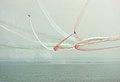 Frecce tricolori Air show Valtenesi del Garda Manerba 2016 figure scintilla.jpg