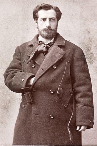 Frédéric Auguste Bartholdi - Frédéric Auguste Bartholdi in 1880