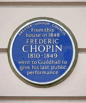St James's Place - Image: Frederic Chopin Guildhall
