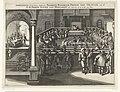 Frederik Hendrik legt de eed af als stadhouder en neemt zitting in de Staten van Holland, 1625 Afbeeldinge, Hoe de Nieuwe Stadt houder, Fredrick Hendrick, Prince van Orangie, aen de G.M. Heren Staten van Hollandt den Ee, RP-P-OB-81.122.jpg