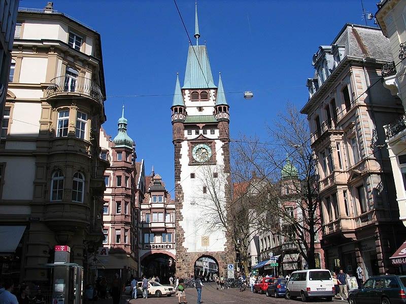 Freiburg Martinstor