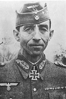 Fridolin von Senger und Etterlin German general