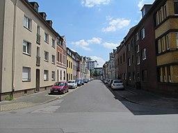 Friedenstraße in Duisburg