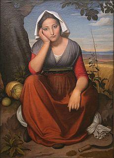 Vittoria Caldoni Italian model of many artists