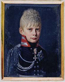 Kronprinz Friedrich Wilhelm im Jahr 1810, gezeichnet von Heinrich Anton Dähling (Quelle: Wikimedia)