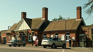 Frinton-on-Sea railway station - Image: Frinton on Sea railway station in 2006 (cropped)