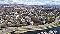 Frognerstranda, Skarpsno, E18 (29. april 2018).jpg
