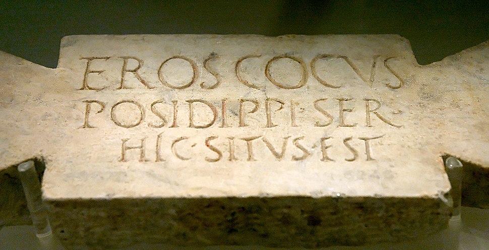 Funeral stele cook Terme