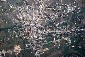 Fushë-Krujë - Image: Fushë Kruja Aerial View