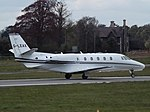 G-LEAX Cessna Citation 560XLS London Executive Aviation Ltd (25996048614).jpg