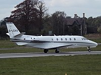 G-LEAX - C56X - London Executive Aviation