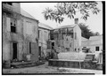 GENERAL VIEW OF REAR OF ELEVATION - 33-35 Strandgade (House), 33-35 Strand Street, Christiansted, St. Croix, VI HABS VI,1-CHRIS,7-3.tif