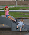 GIs' kids play in a Guantanamo skateboard park.jpg