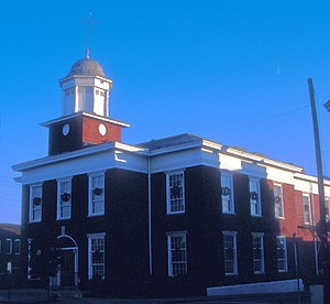 National Register of Historic Places listings in Granville County, North Carolina - Image: GRANVILLE COUNTY COURTHOUSE