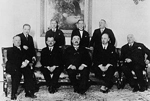 Karl Buresch - Second Buresch cabinet, 1932