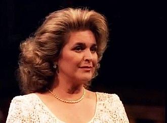 Gabriela Beňačková - Gabriela Beňačková at the Met gala, 1996