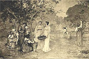 Gabrielle D. Clements - Image: Gabrielle D. Clements, Harvest, World's Columbian Exposition, 1893