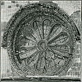 Galatina chiesa di S. Caterina finestrone della facciata xilografia.jpg