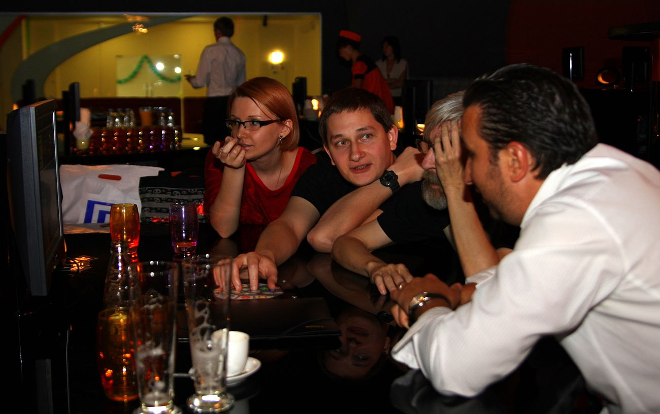 Gameplay and PC for Home at Softprom Gamescom afterparty 2009.jpg