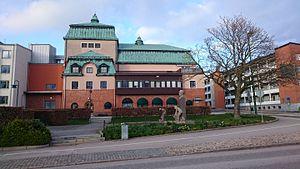 Det gamle teater i Ronneby 2017.