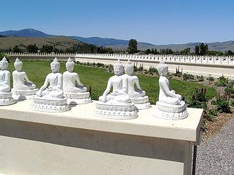 Bhadrakalpikasutra - The Garden of One Thousand Buddhas Arlee, Montana