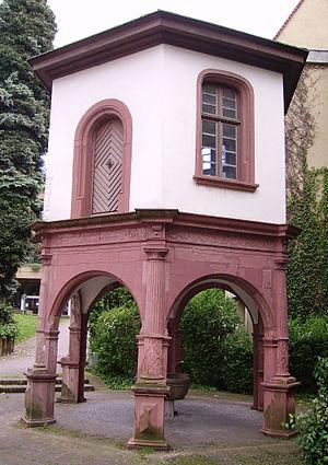 Gartenpavillon Triplex-Komplex Heidelberg