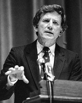 Gary Hart - Gary Hart speaks at Cornell University in late 1987.