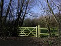 Gate to The Delph, Melling - geograph.org.uk - 337436.jpg