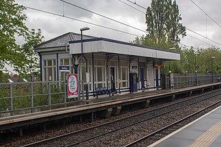 Gatley railway station