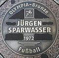 Gedenktafel Breiter Weg (Magdeburg) Jürgen Sparwasser.jpg