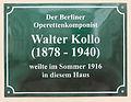 Gedenktafel Seestrasse 41 (Heringsdorf) Walter Kollo.jpg