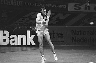 Gene Mayer - Gene Mayer at the 1979 ABN Tennis Tournament