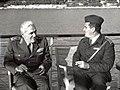 General Enver Ćemalović na vežbama.jpg