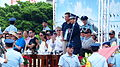 General Liu Zen-Wu, ROCAF Commander Awarding Director Khan Lee for His Moive 20140719.jpg