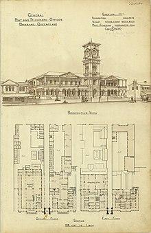 General Post Office Brisbane Wikipedia