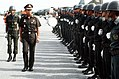 General Saiyud Kerdphol, Supreme Commander of the Royal Thai Armed Forces, reviews the troops at the opening ceremony for Operation MITRAPAB.jpg