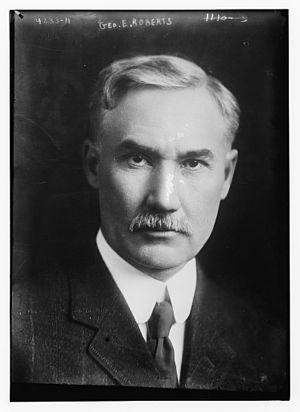 George E. Roberts - George Evan Roberts in 1917