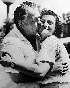 Babe Didrikson Zaharias - George and Babe Zaharias c. 1955