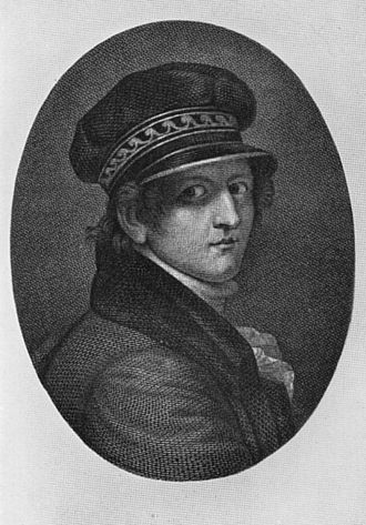 Gerhard von Kügelgen - Engraving after a self-portrait by Gerhard von Kügelgen