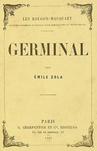 Germinal (novel) - First edition, 1885