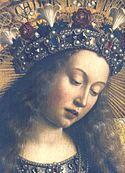 Szűz Mária képea Genti oltáron