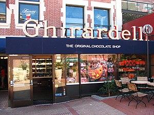 Ghirardelli Chocolate Shop, Ghirardelli Square...