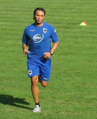 Giampaolo Pazzini - Pazzini with Sampdoria.