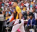 Giancarlo Stanton competes in semis of '16 T-Mobile -HRDerby. (28468369642).jpg