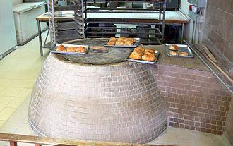 Devon Avenue (Chicago) - Tandoor oven for cooking bread in Georgian bakery