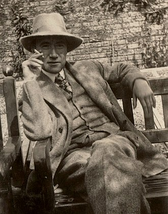 André Gide - Gide photographed by Ottoline Morrell in 1924.