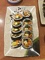 Gimbap with beef sausage, Myung Ga Kimbap.jpg