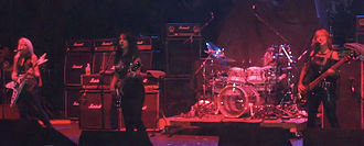 Girlschool - Girlschool playing live in London in 2009