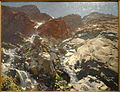 Glacier Streams - The Simplon, John Singer Sargent, c. 1910 - Museum of Fine Arts, Springfield, MA - DSC03885.JPG