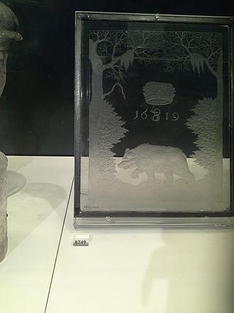 Caspar Lehmann - Image: Glass made by Caspar Lehmann 2013 12 03 08 03